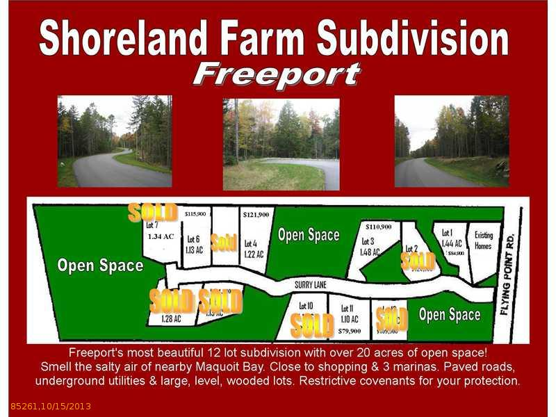 Lot 6 Surry Lane, Freeport, ME 04032